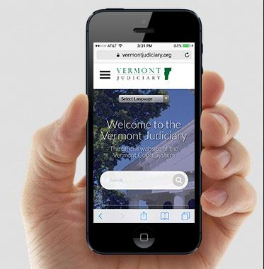 Vermont Judiciary Launches Newly Redesigned Website