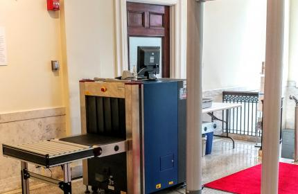 Vermont Courts Receive New Scanning Security Systems